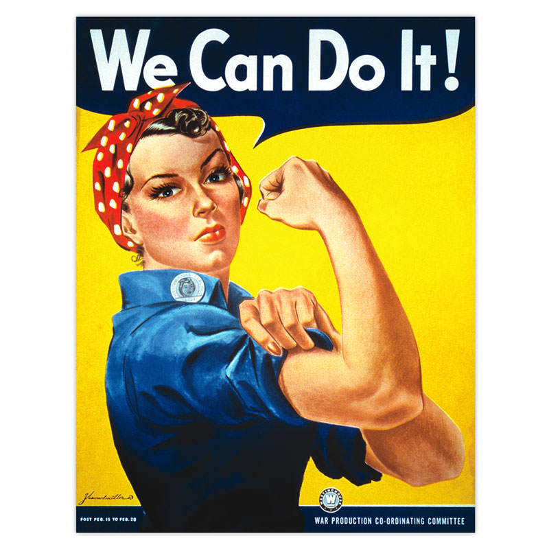 Poster We Can Do It!
