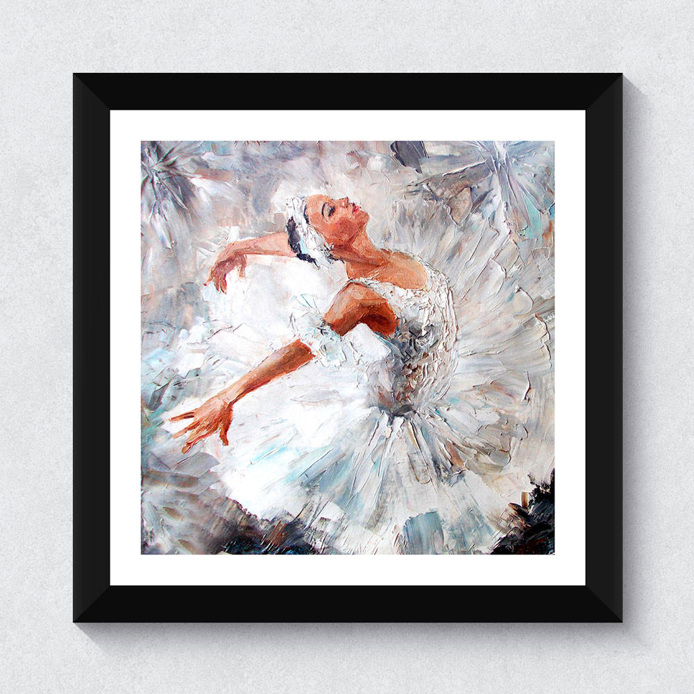 Quadrinho Decorativo Bailarina