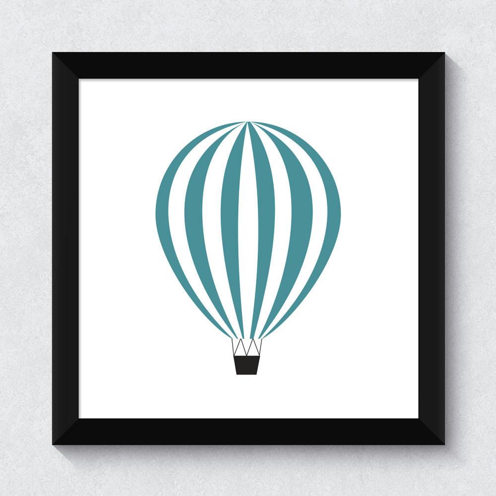 Quadrinho Decorativo Balão