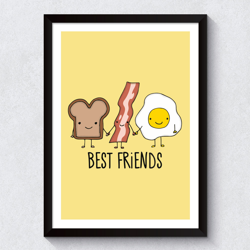 Quadro Decorativo Best Friends