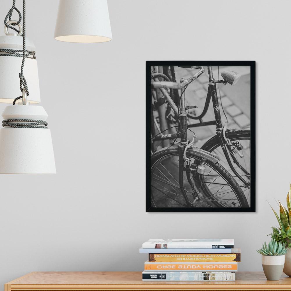Quadro Decorativo Bicicleta Retrô