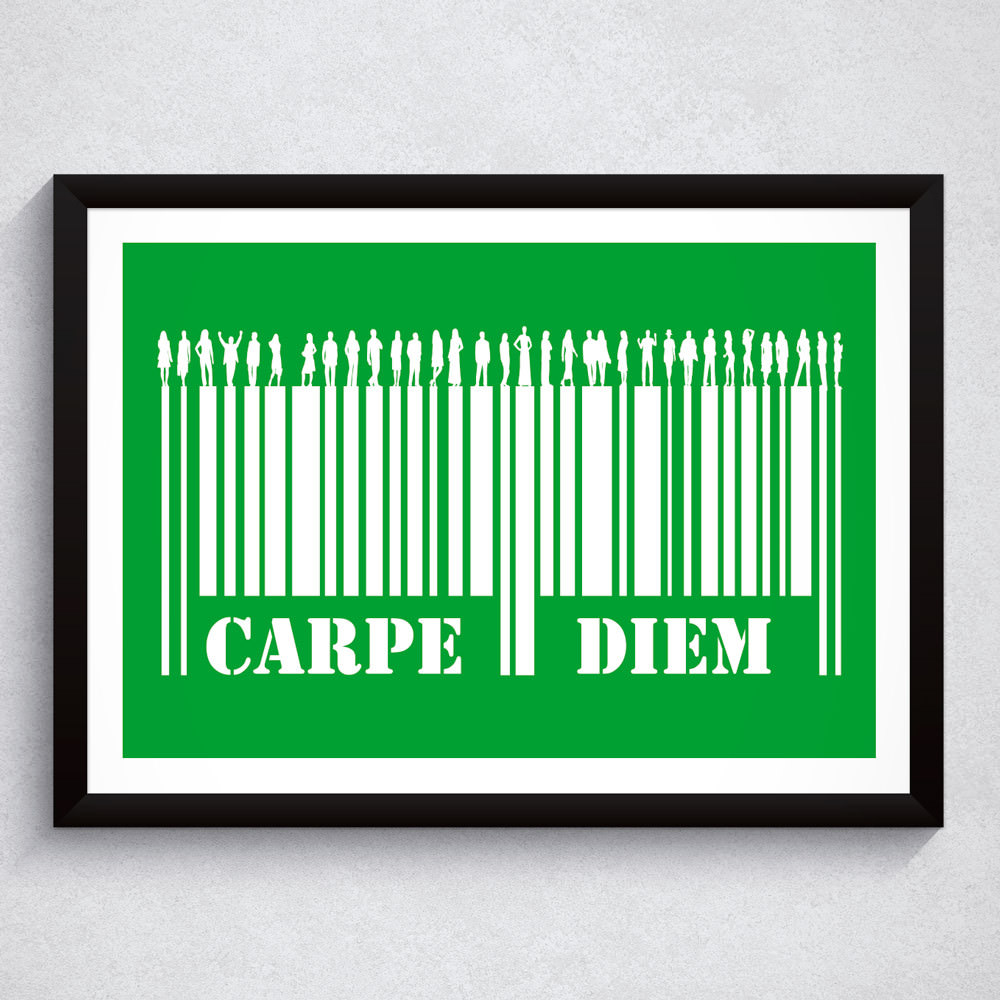 Quadro Decorativo Carpe Diem
