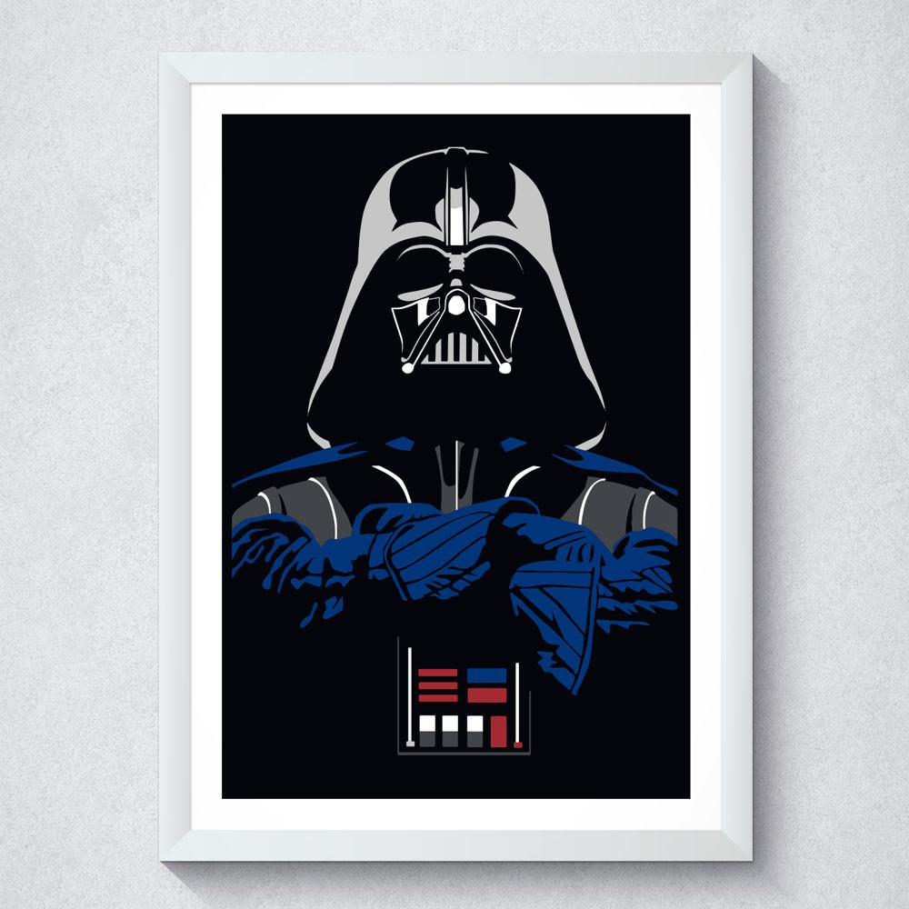 Quadro Decorativo Darth Vader
