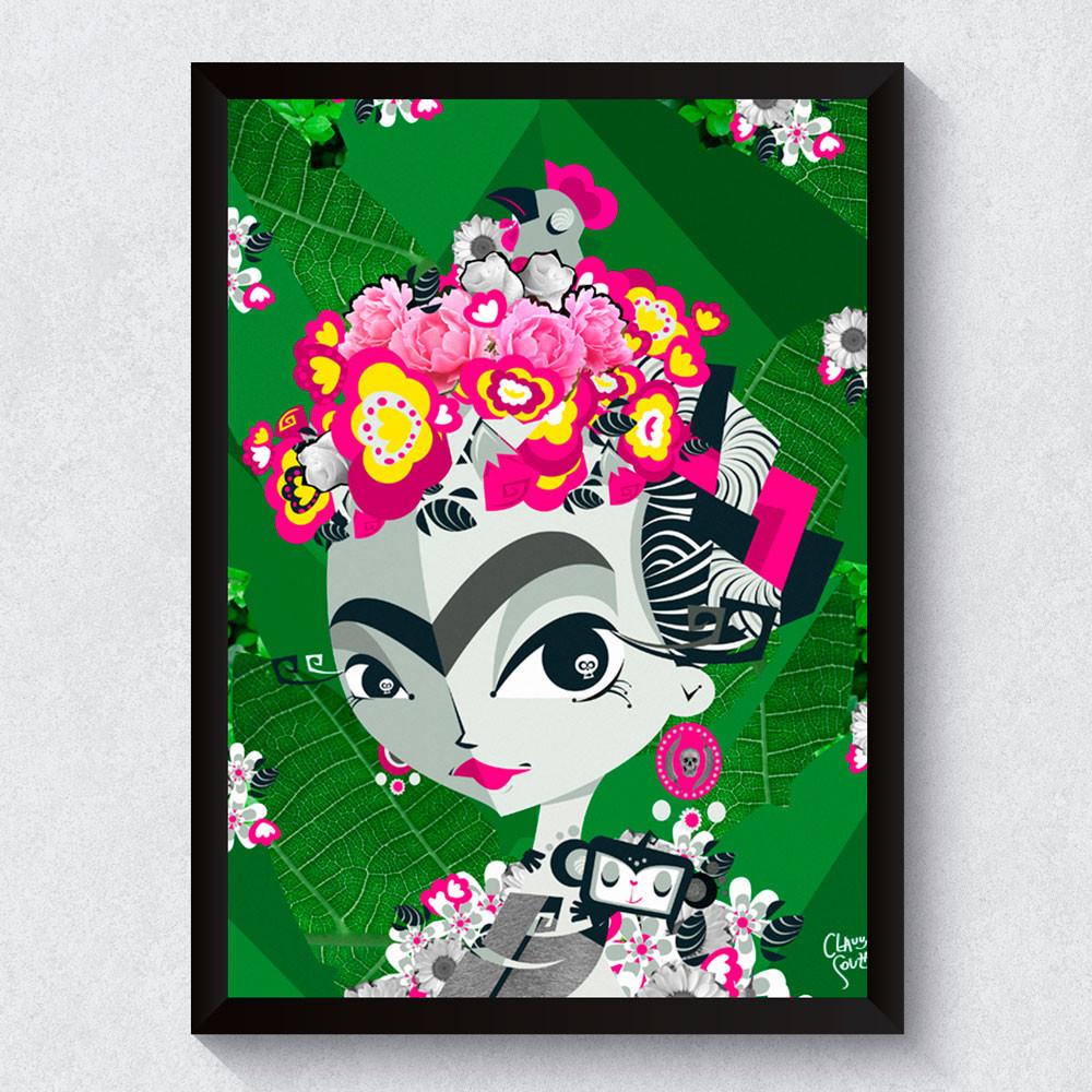Quadro Decorativo Frida