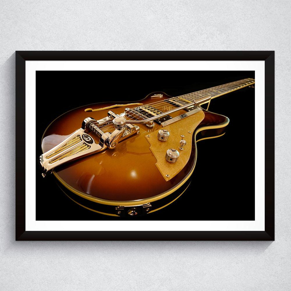 Quadro Decorativo Guitarra