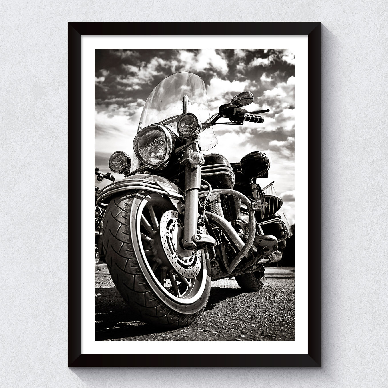 OUTLET - Quadro Decorativo Harley
