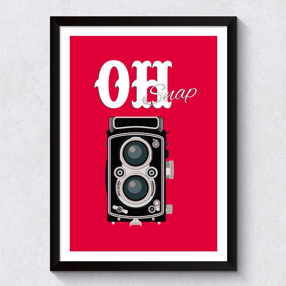 Quadro Decorativo Ho Snap
