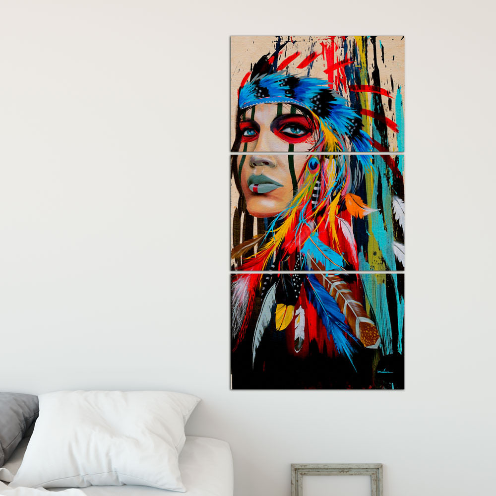 Quadro Decorativo Índia - Em Canvas