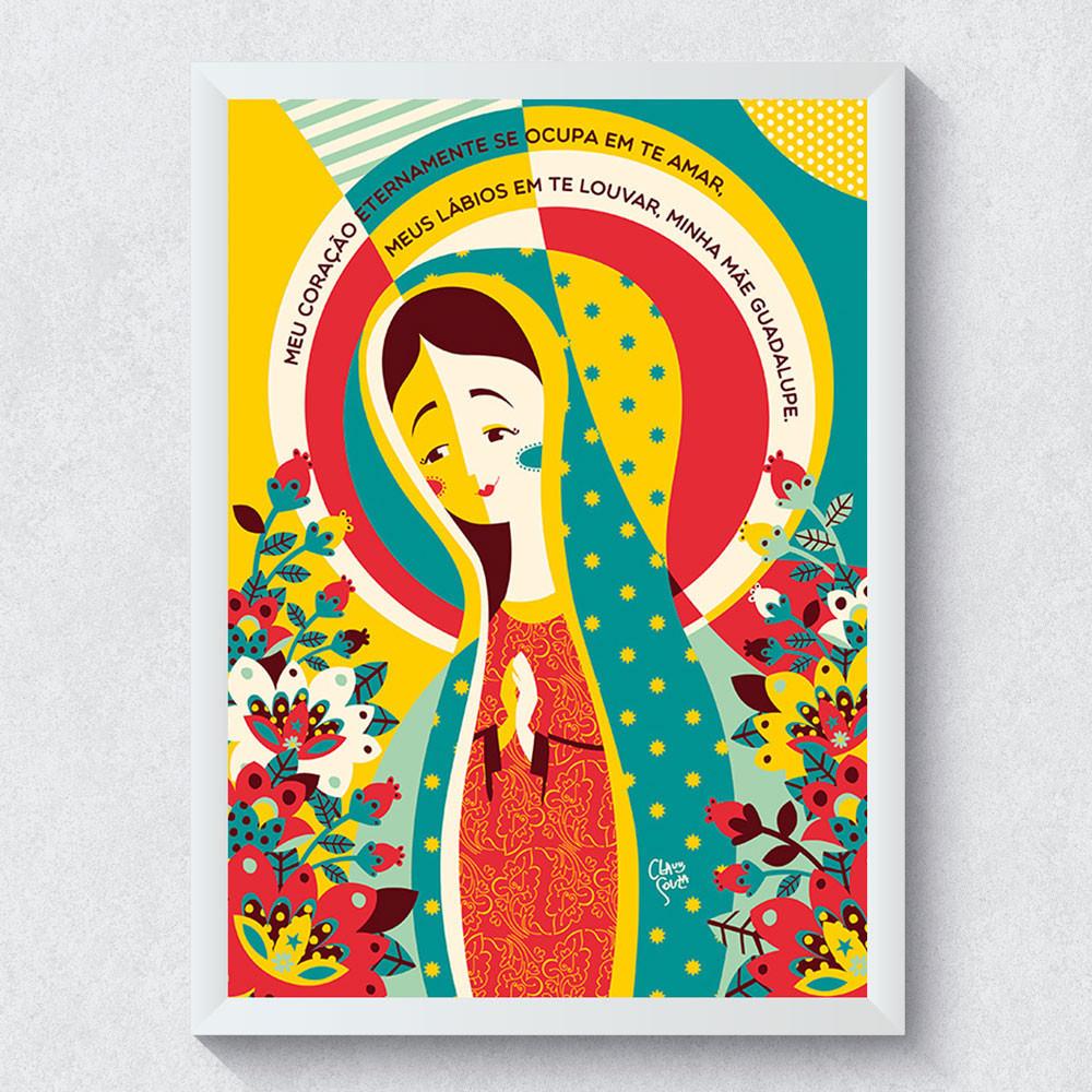 Outlet - Quadro Decorativo Nossa Senhora de Guadalupe