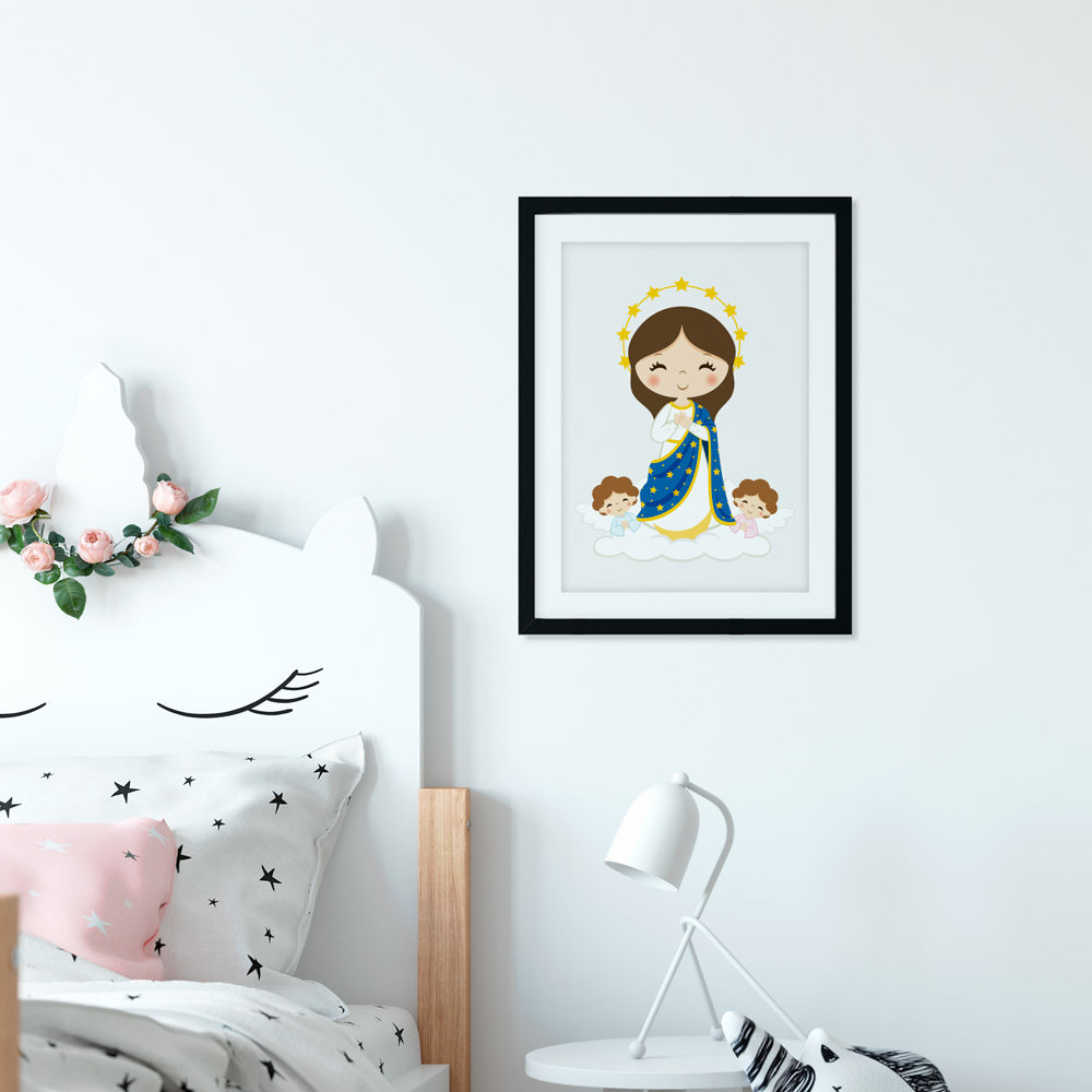 Quadro Decorativo Nossa Senhora da Conceição
