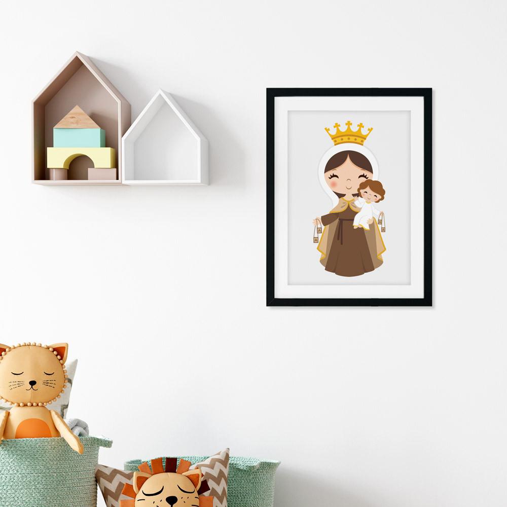 Quadro Decorativo Nossa Senhora do Carmo