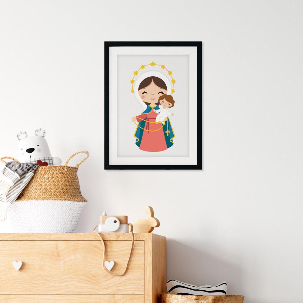 Quadro Decorativo Nossa Senhora do Rosário