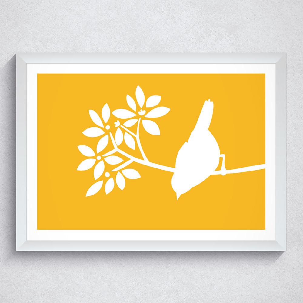 Quadro Decorativo Passarinho