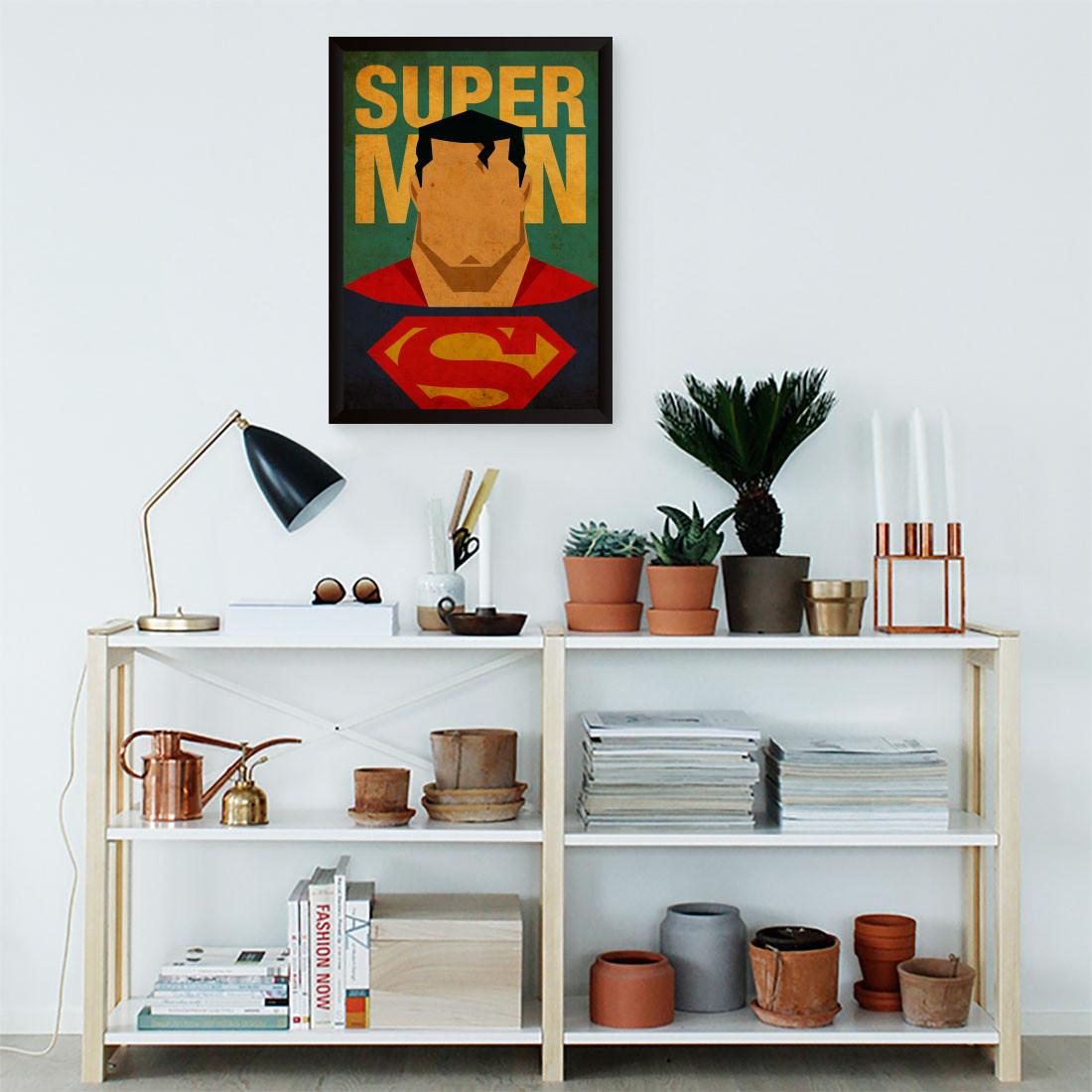 Quadro Decorativo Super Man