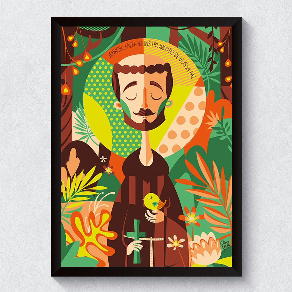 Quadro Decorativo São Francisco de Assis