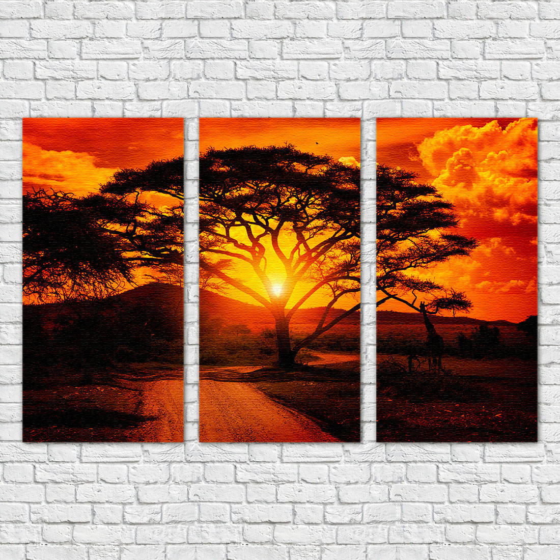 Quadro Decorativo Savana Africana