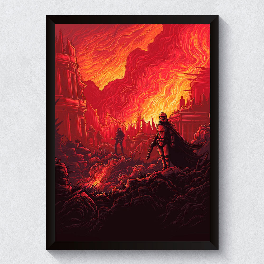 Quadro Decorativo Star Wars O Despertar da Força II