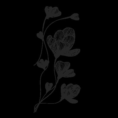 Adesivo de Parede Flor de Lótus II