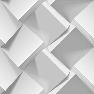 Papel de Parede 3D Abstrato Geométrico