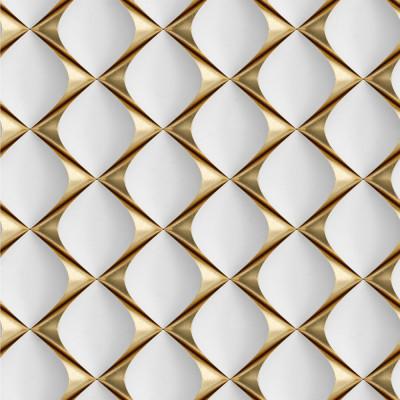 Papel de Parede 3D Gold