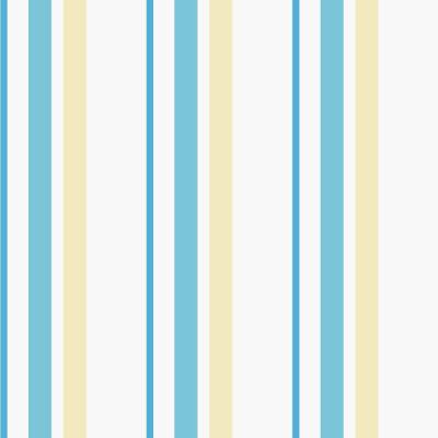Papel de Parede Listras (Azul e Amarelo)