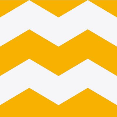 Papel de Parede Chevron Grande (Amarelo)