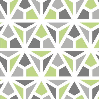 Papel de Parede Mosaico Triângulos