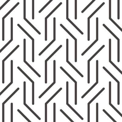 Papel de Parede Linhas Geométricas Abstratas