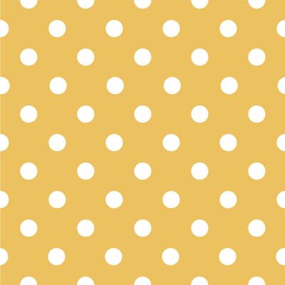 Papel de Parede Poá Branco e Amarelo