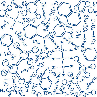 Papel de Parede Química