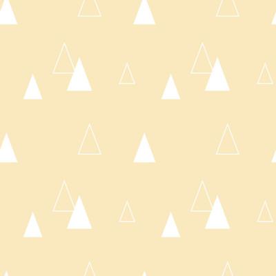 Papel de Parede Triângulos Abstratos (Cinza)