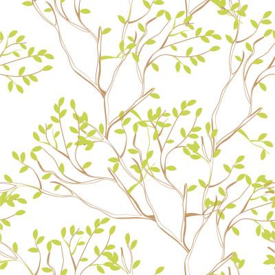 Papel De Parede Galhos de Árvores Delicados