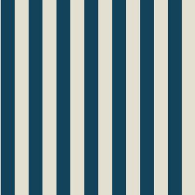 Papel de Parede Listras (Azul Marinho e Bege)