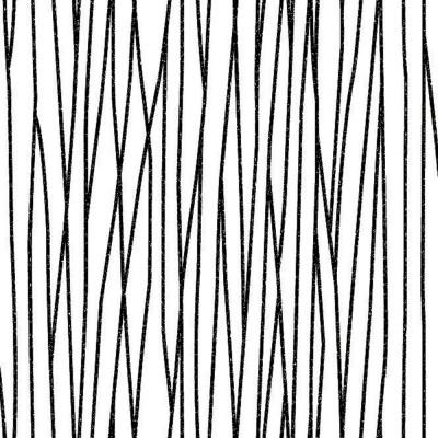 Papel de Parede Traços Finos Preto e Branco - Corium - Rolo com 10 Metros