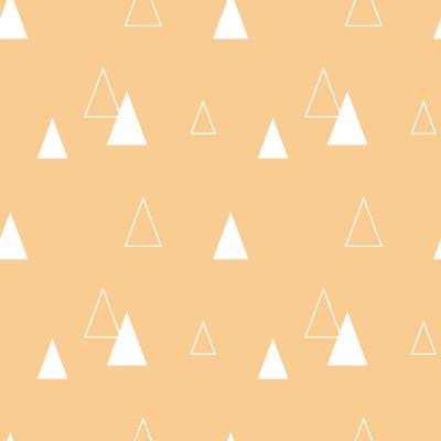 Papel de Parede Triângulos Abstratos (Rosa Bebê)