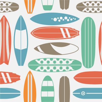 Papel De Parede Pranchas de Surf