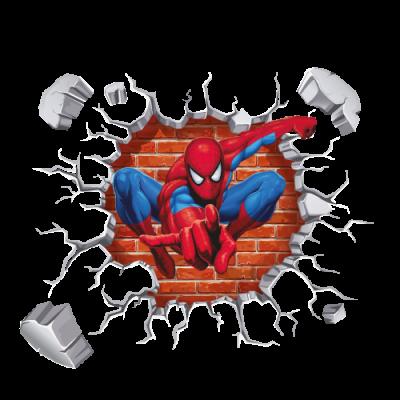 Adesivo De Parede Homem Aranha Modelo Exclusivo Bemcolar