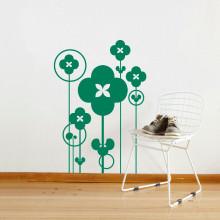 Adesivo de Parede Bosque de Flores