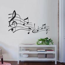 Adesivo Decorativo Musical Harmonia