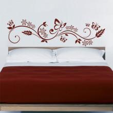 Adesivo Decorativo Para Cabeceira Floral
