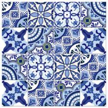 Adesivo para Azulejo Português Tons de Azul