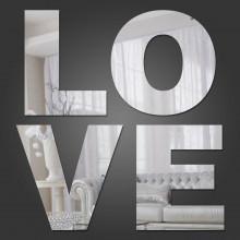 Espelho Decorativo Love
