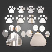 Espelho Decorativo Patas