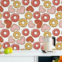 Papel de Parede Donuts