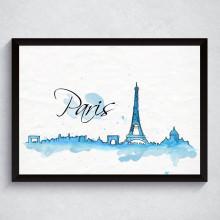 Quadro Decorativo Paris França