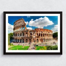 Quadro Decorativo Coliseu