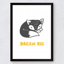 Quadro Decorativo Infantil Dream Big