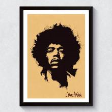 Quadro Decorativo Jimi Hendrix