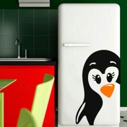 Adesivo de Geladeira Pinguim