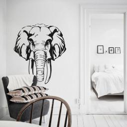 Adesivo de Parede Elefante
